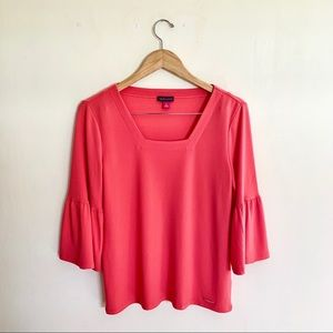 Vince Camuto Bell long sleeve top